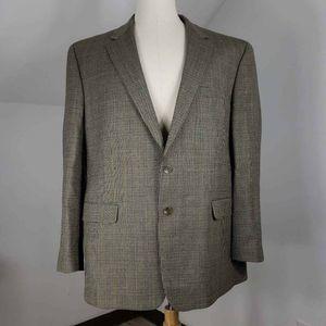 LRL Ralph Lauren Men Sport Coat Beige Wool 48R